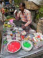 Holi Colors Street Vendor - Howrah 2011-03-19 1846.JPG