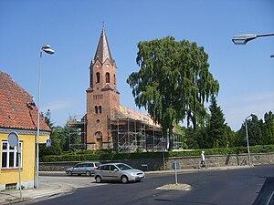 Vilhelm Theodor Walther - Image: Holme Aarhus church