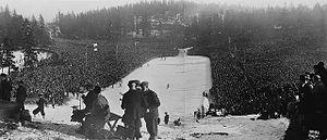 FIS Nordic World Ski Championships 1930 - Image: Holmenkollen 1930 crowd