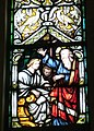 Holy Name Church (Columbus, Ohio) - stained glass, north arcade, St. Paul and King Agrippa.jpg