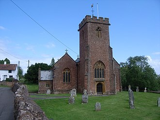 Taunton Deane - Image: Holy Trinity Church, Ash Priors geograph.org.uk 885498
