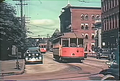 Holyoke Street Railway Car at corner of Race and Dwight St, looking North (1937).png