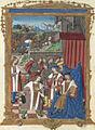 Hommage de saint Judicaël à Dagobert Ier.jpg
