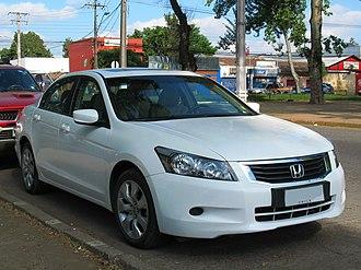 Honda Accord (North America eighth generation) - Image: Honda Accord 2.4 EXL 2009 (15313918138)