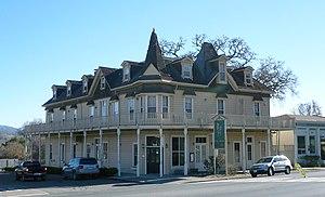 Hopland, California - Downtown Hopland