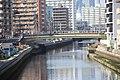 Horikawa view from Sumiyoshi Bridge 20190309-01.jpg
