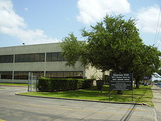 Houston Independent School District - The at-the-time West Region Office, currently the Technology Information Systems building