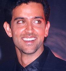 A picture of Hrithik Roshan taken in 2001.