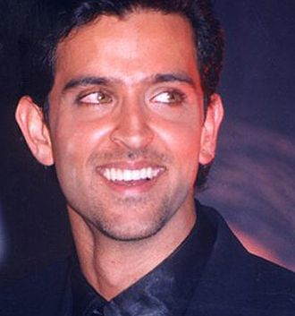 Hrithik Roshan - Roshan at an event for Kabhi Khushi Kabhie Gham... (2001)—his biggest commercial success to that point