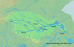 Map of the Huai River