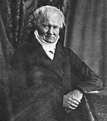 Daguerreotypie von Alexander von Humboldt aus dem Jahr 1847 (Quelle: Wikimedia)
