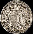 Hun II Rakoczi Ferenc Forint 1705 KB Huszar 1524 obverse.jpg