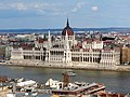 Hungarian Parliament Building from Fisherman's Bastion, 2013 Budapest (265) (13228417083).jpg