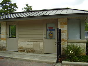 Hunters Creek Village, Texas - Image: Hunters Creek Village Texas Police Box