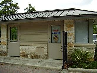 Hunters Creek Village, Texas - Image: Hunters Creek Village Texas Police Box