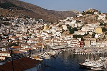 photograph of the Island of Hydra