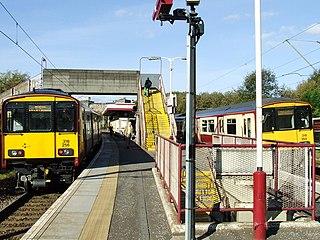Hyndland railway station in Glasgow, Scotland