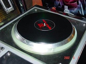 Beatmania IIDX - Turntable control