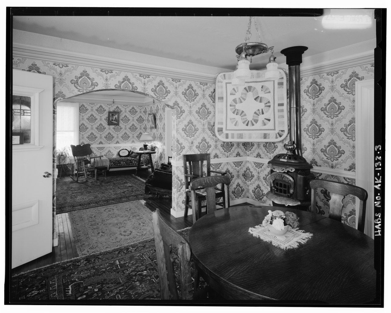 File interior dining room looking into living room - Interior women s health fairbanks ak ...
