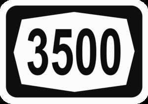 Highway 35 (Israel) - Image: ISR HW3500
