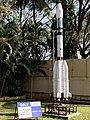 ISRO GSLV (Geostationary Satellite Launch Vehicle) model at HAL Museum, Bengaluru (Ank Kumar) 01.jpg