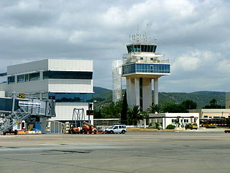 Ibiza Airport - Control Tower of the airport