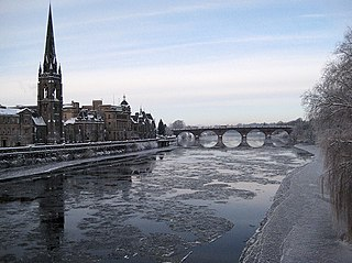 Perth, Scotland City in Scotland
