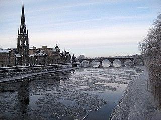 Perth, Scotland City in Scotland