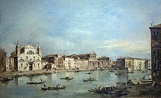 The Grand Canal with Santa Lucia and Santa Maria di Nazareth