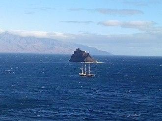 São Vicente, Cape Verde - Landscape view of Ilheu dos Passaros, Cape Verde