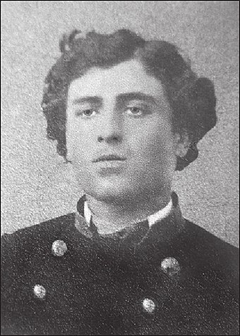 Chavchavadze as a 1st year gymnasium student