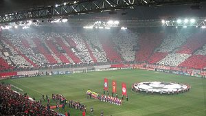 Karaiskakis Stadium - Olympiacos vs Chelsea during UEFA Champions League 2007-08
