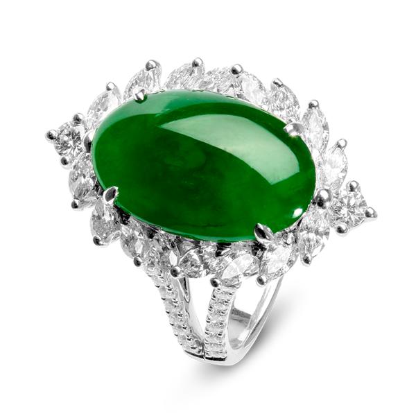 """Green nephrite jade (Precambrian; Granite Mountains, Wyoming, USA) 1"""