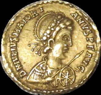 Majorian - Solidus of Emperor Majorian