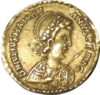 Impero d'occidente, maggioriano, solido in oro (arles), 457-461.png