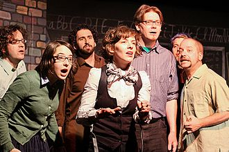Collective intelligence - The cast of After School Improv learns an important lesson about improvisation and life