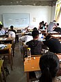In a extra-curricular tuition class Tieling High School Class 11 Grade 2018 18.jpg