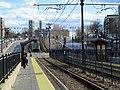 Inbound platform at Washington Street station, April 2017.JPG