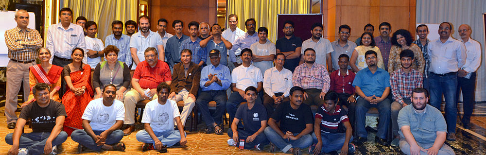 India Community Consultation Meet -2014 (Most of the) Participants.jpg