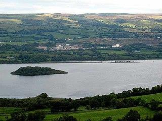 Lough MacNean lake in the United Kingdom
