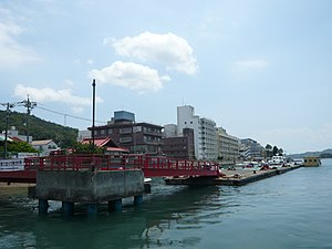 Geiyo Islands - Image: Innoshima habu port 001