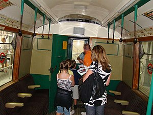 Standing passenger - Image: Inside the A stock ^1 geograph.org.uk 1466784