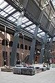 Interieur binnenplaats, overzicht van de binnenplaats tijdens de aanleg van de overkapping, werkzaamheden i.v.m. herbestemming - Apeldoorn - 20533421 - RCE.jpg
