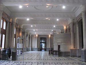 Santa Fe (Belgrano) railway station - Halls after remodelling.