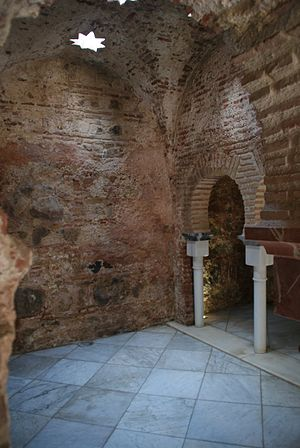 Arab Baths (Ceuta) - Inner chamber of the Arab Baths in the plaza de la Paz, Ceuta