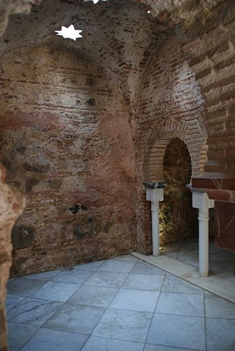 Ceuta - The Arab Baths of Ceuta, built between the 11th and 13th centuries.