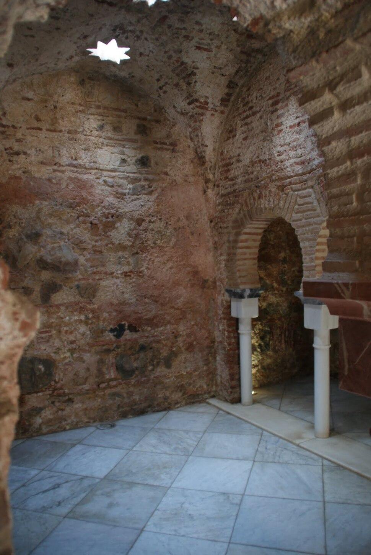 Interior de los Baños Árabes de Ceuta
