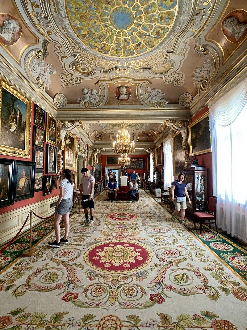 Interior of the Wilanów Palace, Warsaw, Poland 13.jpg
