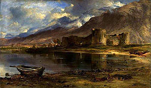 Battle of Inverlochy (1645) - Inverlochy Castle, showing Ben Nevis in the background