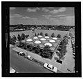 Irwin Union Bank & Trust Company, Columbus, Indiana, 1950-57. Aerial view - 00222v.jpg